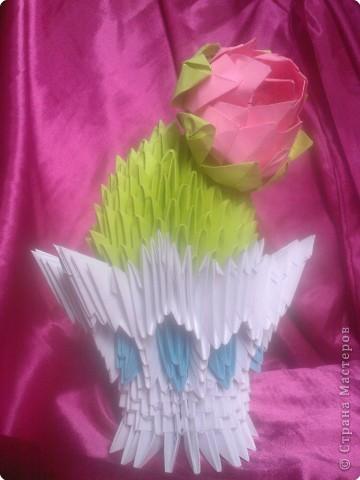 Оригами модульное: Еще один кактус =)