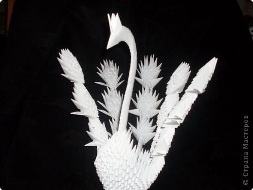 Оригами модульное: Птица! фото 1