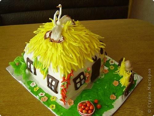 Это тортик-корзинка для моей бабули:) фото 3