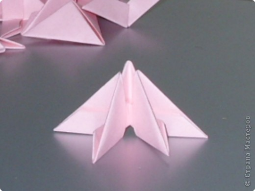 Мастер-класс Оригами китайское модульное МК на изготовление попугайчика Бумага фото 4