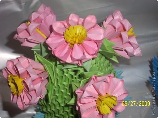 Оригами модульное: И СНОВА КАКТУС))) фото 4
