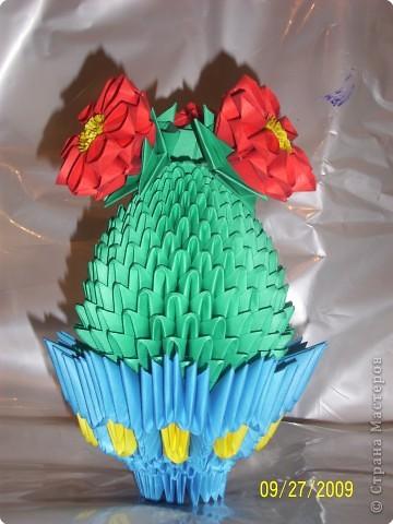 Оригами модульное: И СНОВА КАКТУС))) фото 2
