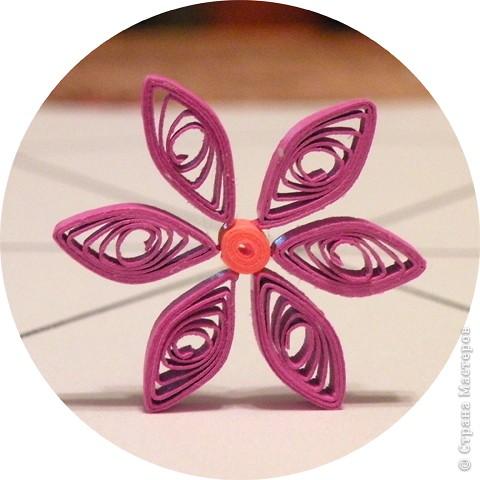 Квиллинг: Мастер класс: как сделать красивый цветок. фото 26