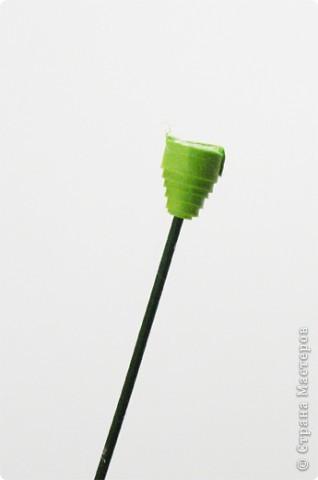 Квиллинг: Мастер класс: как сделать красивый цветок. фото 23