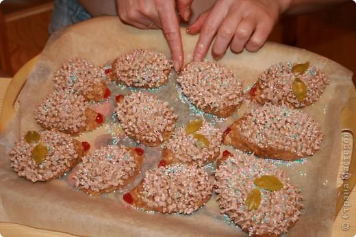 Вкусные ёжики . фото 1