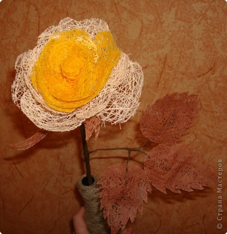 Плетение: Роза фото 1