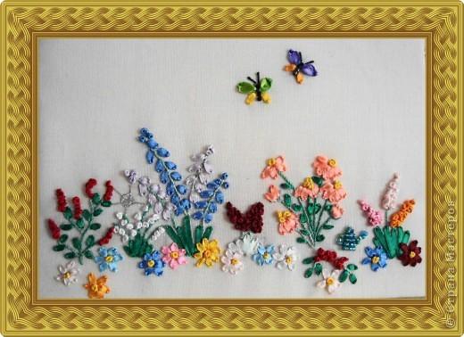 Вышивка: Мой садик