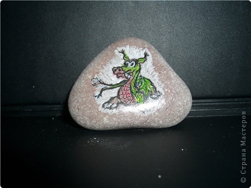Роспись: Роспись на камнях фото 1