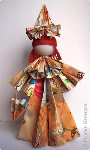 """Оригами: Кукла """"Осень"""""""