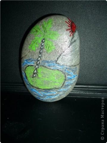 Роспись: Роспись на камнях фото 2