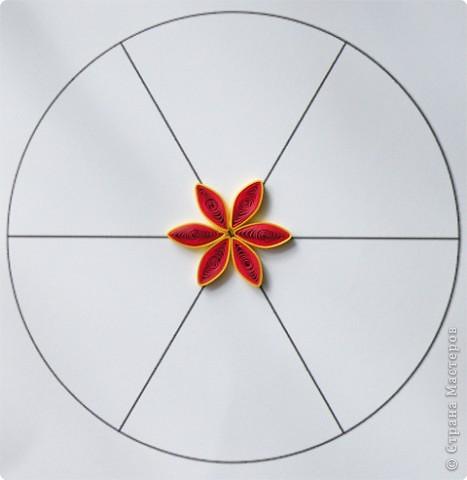 Квиллинг: Мастер класс: как сделать красивый цветок. фото 18