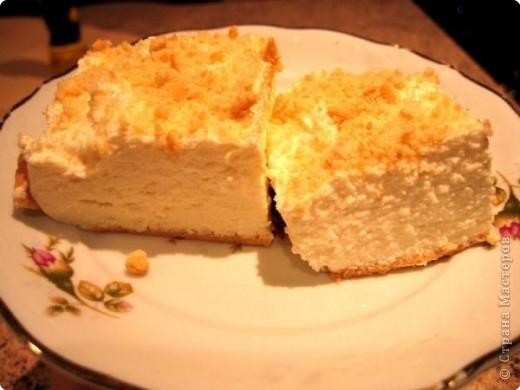 Творожный торт (без выпечки)