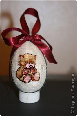 Вышивка крестом: Пасхальное яичко