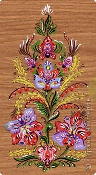 Роспись: Мои эскизы декоративной росписи фото 1