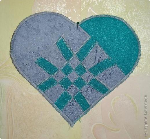 Пэчворк: Плетеные сердечки фото 2
