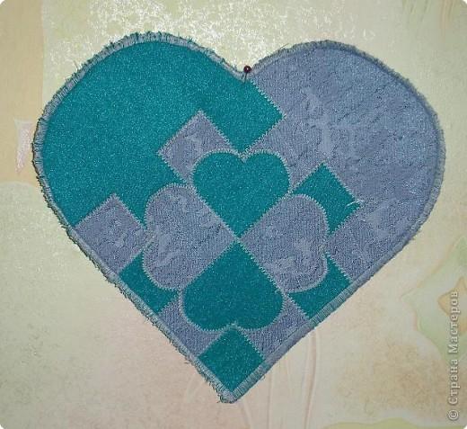 Пэчворк: Плетеные сердечки фото 1