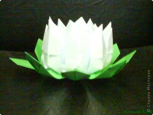 Оригами: Лилия фото 1