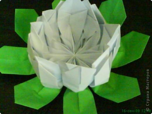Оригами: Лилия фото 2