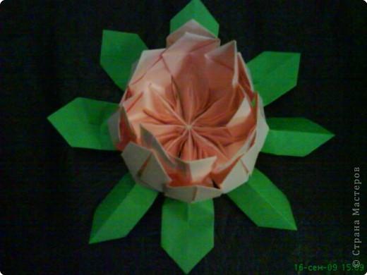 Оригами: ЛИЛИИ фото 3
