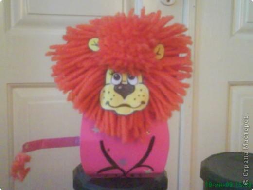 Вырезание: Львёнок