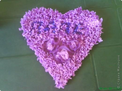 Открытка Поделка изделие 23 февраля Валентинов день Пасха Аппликация Торцевание Поделки-самоделки  Бумага фото 1