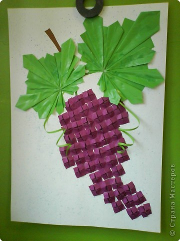 Оригами: Виноград