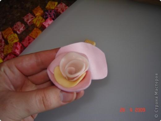 Лепка: Сладкая розочка фото 5