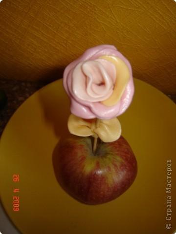 Лепка: Сладкая розочка фото 1