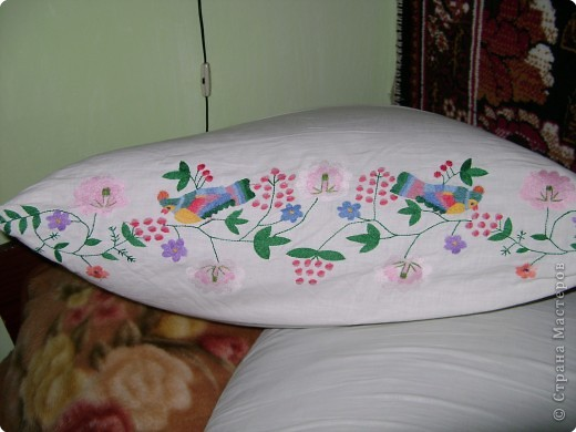 Вышивка, Вышивка крестом: Вышивки прабабушки фото 7