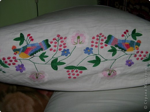 Вышивка, Вышивка крестом: Вышивки прабабушки фото 8