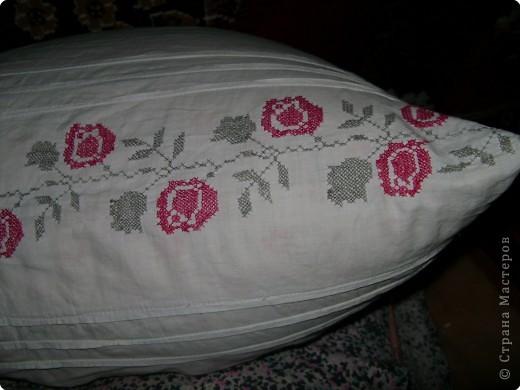 Вышивка, Вышивка крестом: Вышивки прабабушки фото 12