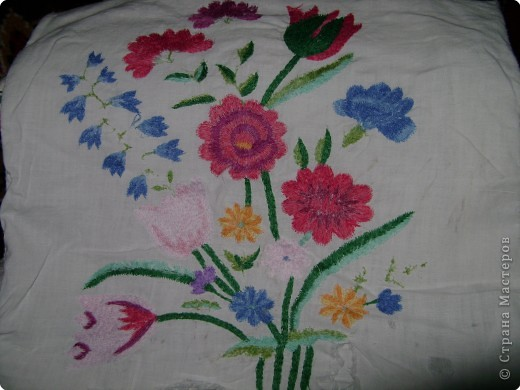 Вышивка, Вышивка крестом: Вышивки прабабушки фото 6