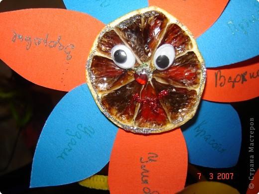 Такой озорной букетик мы с сынулей создали в подарок на 8 марта. фото 2