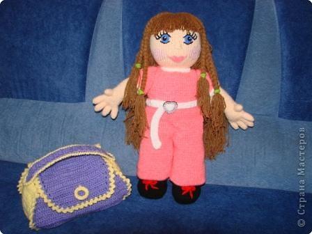 Вязание: Кукла фото 3