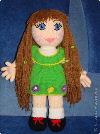 Вязание: Кукла фото 1