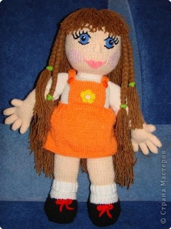 Вязание: Кукла фото 2