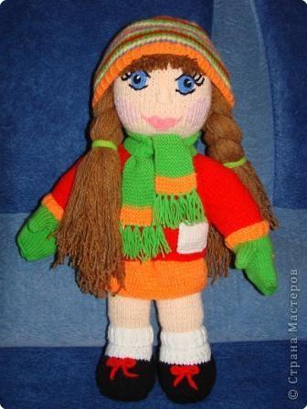 Вязание: Кукла фото 5