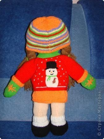 Вязание: Кукла фото 6