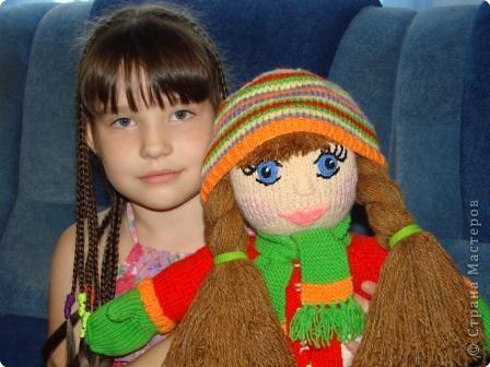 Вязание: Кукла фото 7