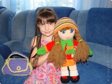 Вязание: Кукла фото 8