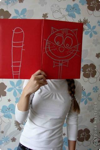 Такую папку для ведущего детского праздника нарисовала моя дочка. Мне эта идея очень понравилась. На одной страничке голова. На другой... фото 3