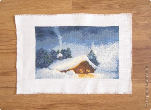 Вышивка крестом: Рождественская ночь