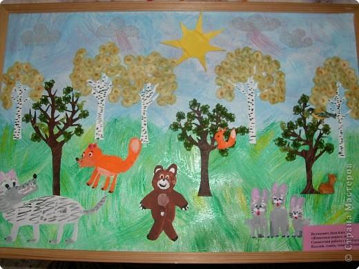 Коллаж: творчество моих юных художников фото 2