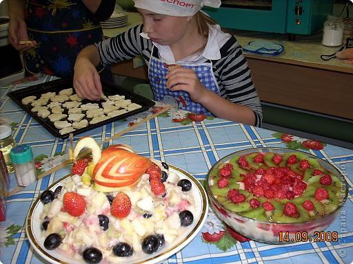 Тема урока: салат фруктовый. Оформление готового блюда. фото 7