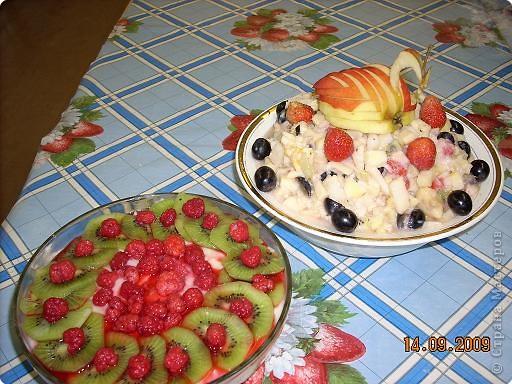 Тема урока: салат фруктовый. Оформление готового блюда. фото 4