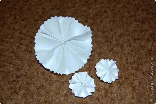 это розочки из треугольников.помоему вышли.... фото 3