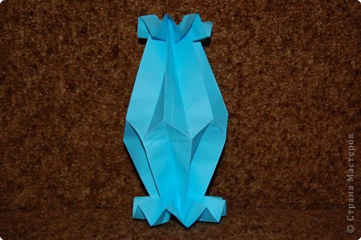 Оригами: ваза наверное
