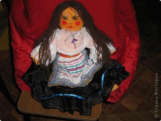 Шитьё: Первые куклы