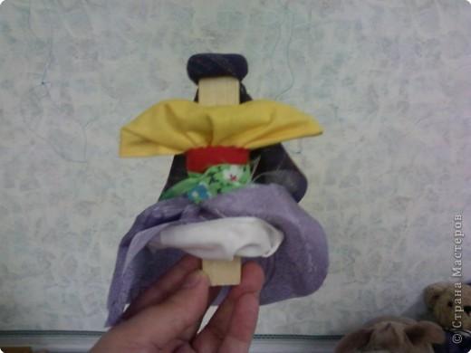 Кукла на щепочке(досочке) фото 2