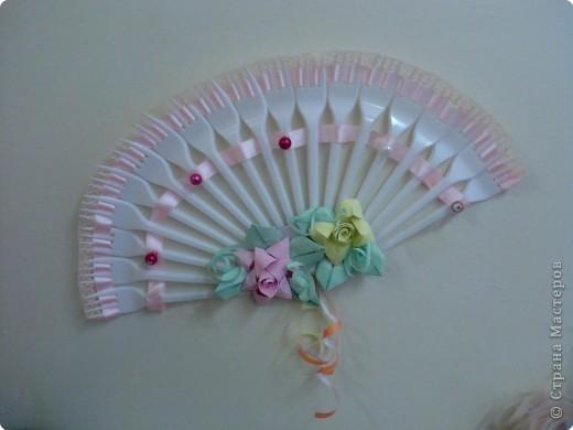 Оригами модульное: веер для леди